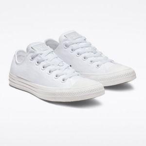 NWT White Monochrome Converse Sneakers